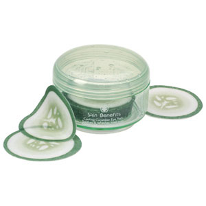 Cucumber Eye Pads - Made by Caswell Massey