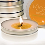 Klean Soy Travel Candle in Blue Hawaii Scent