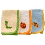 Triple Pack of Washcloths - Made by Little Twig