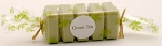 5 Mini Green Tea Guest Soaps - Made by Pre De Provence